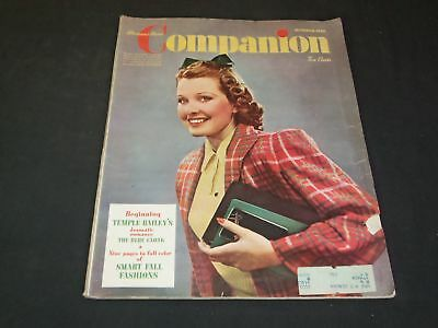 1940 October Woman's Home Companion Magazine - Illustrated Cover - Sp 7051