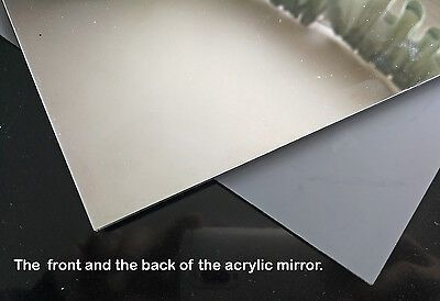 Acrylic Mirror Sheet Perspex Plastic Panel 3mm thick A1 (841x594mm)