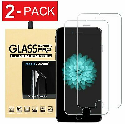 [2-Pack] MagicGuardz For Apple iPhone 8/ 8 Plus Tempered Glass Screen Protector