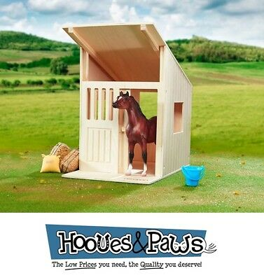 Breyer Hilltop Stable Classic Barn Solid Hardwood Stall #596