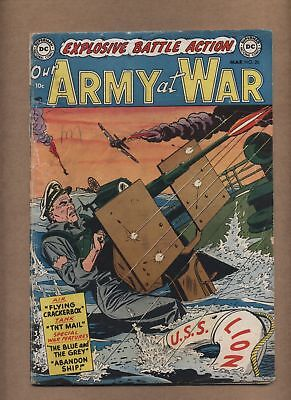 Our Army At War 20 (G-) Golden Age; DC Comics; 1954 (c#15058)