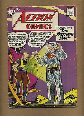 Action 249 (Solid!) Superman; Silver Age; DC Comics; 1959 (c#14404)