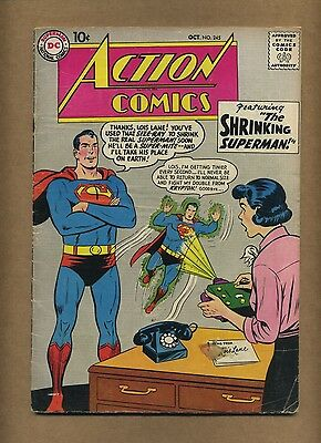 Action 245 (Solid!) Superman; Silver Age; DC Comics; 1958 (c#14402)