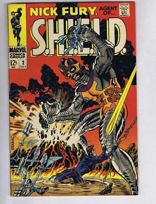 Nick Fury, Agent of S.H.I.E.L.D. #2 (Sharp!) Steranko; Marvel; 1968 (c#17989)