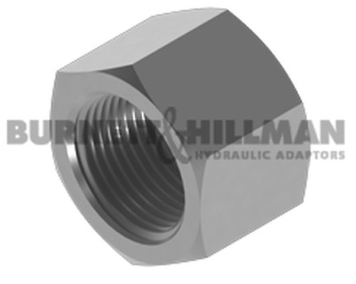 Burnett & Hillman BSP Fixed Female Solid Cap Hydraulic Fitting