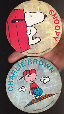 4 Lot Coasters Peanuts Snoopy Woodstock Charlie Brown 5X5 Inches New!