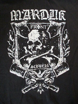 MARDUK CONCERT T SHIRT Black Metal Front Schwein Death To Peace War At Last 3XL