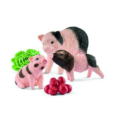 Miniature pig mother and  42421 strong  Schleich Anywhere a Playground