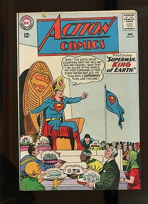 Action Comics #311 (4.5) Superman King Of Earth