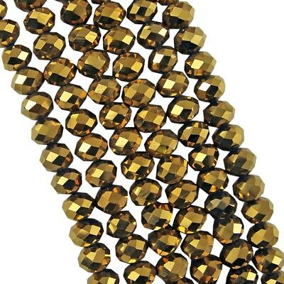 Jewelry Faceted 70pcs #5040 6x8mm Rondelle glass Crystal Flat Beads #217