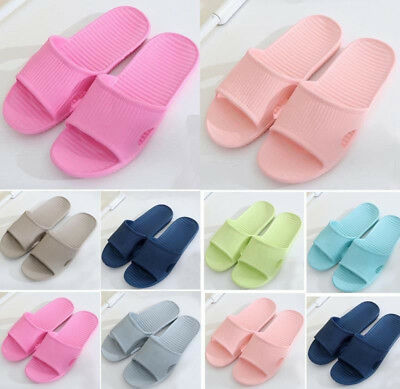 Soft Summer Sports Beach Shower Sandals Home Bath Slippers Women Men Shoes New