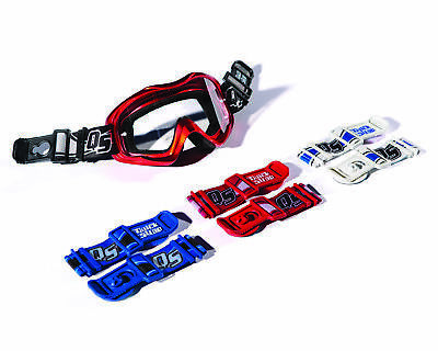 Quick Straps MX Brillenbefestigung Cross Endurohelm schwarz