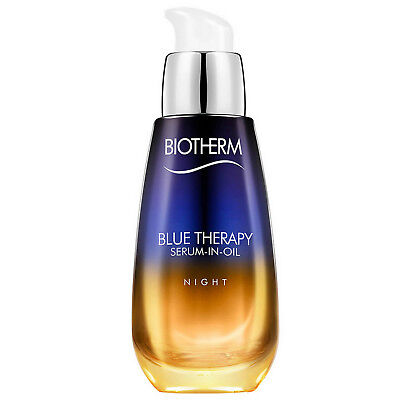 NEW Biotherm Blue Therapy Serum-in-Oil Night 30ml
