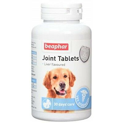 Beaphar Joint Tablets For Dogs - 60 Vet Strength Liver Flavour Puppy Chewable