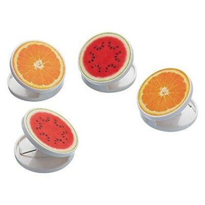Kitchencraft saine Alimentation 1 en 2-Orange éplucheur//Citrus couteau à Zester-Orange
