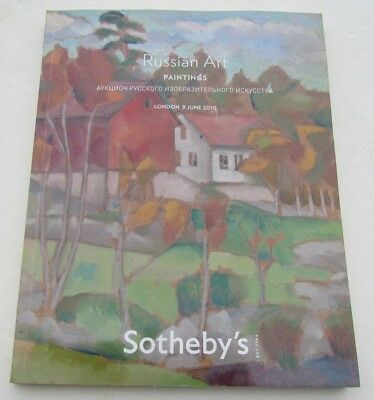 Russian Art Paintings Sotheby's London 2010 Auction Catalog