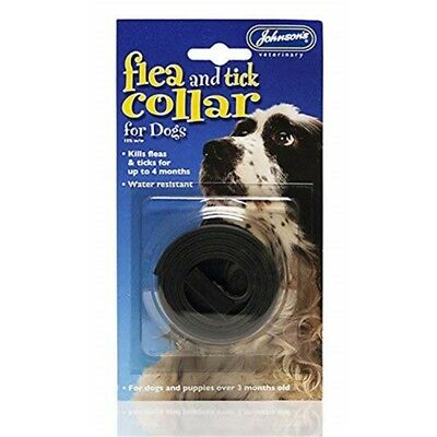 Johnsons Flea And Tick Collar For Dogs (1 Collar) - Waterproof Dog Insecticidal