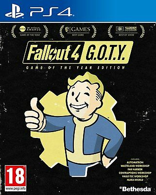 Fallout 4 GOTY PS4 - Game of the Year - Sony PlayStation 4 - NEW Factory Sealed