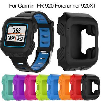 Silicone Bracelet Protector Case Cover For Garmin FR 920 920XT GPS Sport Watch