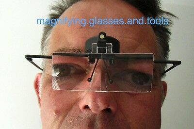 spectacles glasses magnifying magnifier LED light