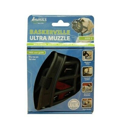 Baskerville Ultra Basket Dog Muzzle – The Company Of Animals - Adjustable And -