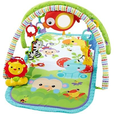 Fp Busy Baby Rainforest Gym - Activity 3in1 Musical Fisher Price Fisherprice