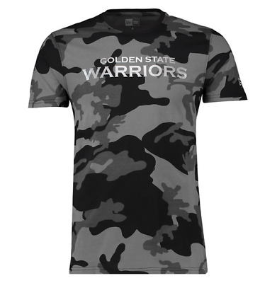 New Era NBA Golden State Warriors Tee Graphic Midnight Camouflage BNG  T-Shirt 796ad9751e40