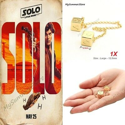 A Star Wars Story Han SOLO Dice Lucky SABACC Dice Millennium Falcon Cosplay New