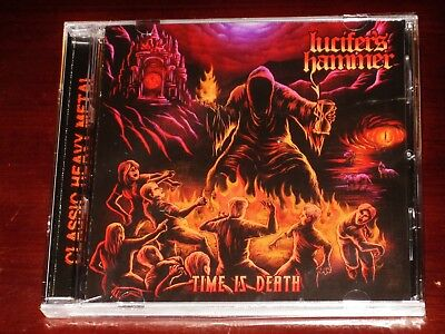 Lucifer's Hammer: Time Is Death CD 2018 Stormspell Records USA SSR-DL-232 NEW