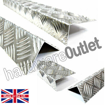 Chequer Plate Angle 1.5 mm Corner Protectors Step Repair Equal & Unequal Angles