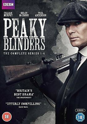 Peaky Blinders: The Complete BBC Series (Season) 1 2 3 4 Collection Box Set DVD