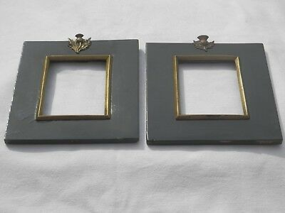 Georgian, Circa 1800, Miniature Picture Frames