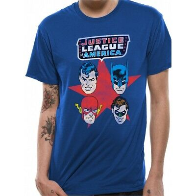Blue Adults Justice League T-shirt - Tshirt