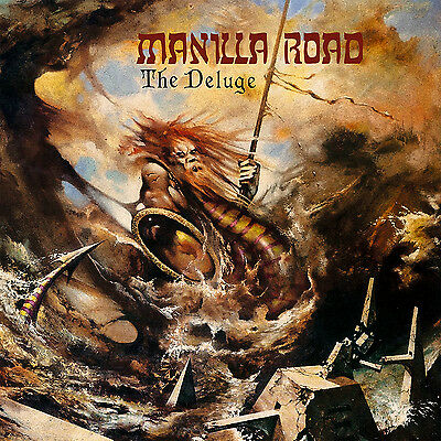 Mark Shelton CD Manilla Road the Deluge