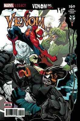 Venom #160 Venom Inc Part 5 Spider Man Black Cat Marvel Comics