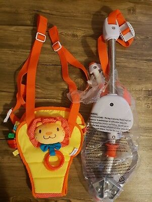 MUNCHKIN BOUNCE & Play Door Baby Bouncer Toy - £10.00 | PicClick UK