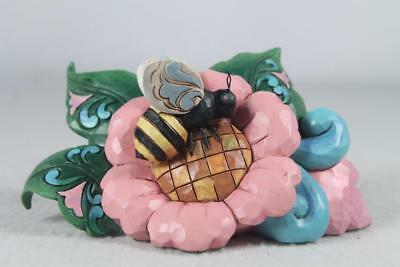Jim Shore 'Bumblebee On Flower' Adorable Mini Collection #6000678 New 2017!