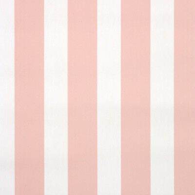 1940s Stripe Vintage Wallpaper Pink And White Stripes