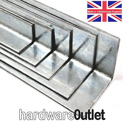 Pre-Galvanised Folded Angle 3mm Thick equal & unequal angle Guillotine Cut /FOLD