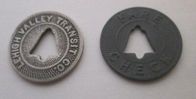 Allentown, PA 3 different Lehigh Valley Transit Co. transit tokens PA15G I /& K