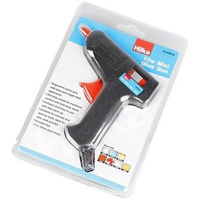 Hilka Tools 91200010 10w Mini Glue Gun, Black