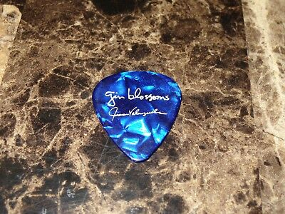 Gin Blossoms Jesse Valenzuela Stage Used Guitar Pick New Miserable Experience 18