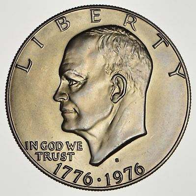 Silver - SPECIALLY MINTED - 1976-S - 40% Eisenhower Silver Dollar - RARE *887