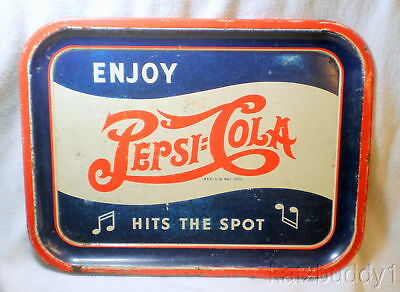Vintage 1940s Pepsi Cola Advertising Tray