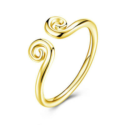 Journey to the West Chinese Jewelry Punk Magic Spell Open Rings Ring Gold Plated