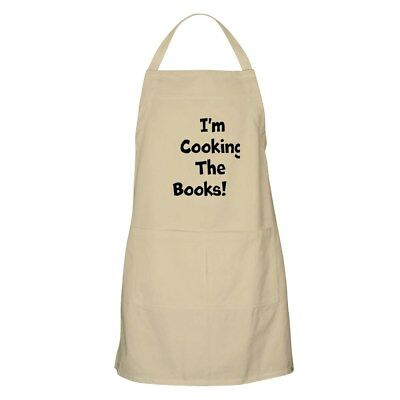 CafePress - I'm Cooking The Books! Financial Apron - Full Length Cooking Apron