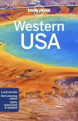 NEW Western USA By Lonely Planet Travel Guide Paperback Free Shipping