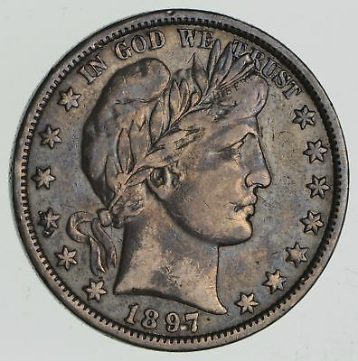 KEY DATE - 1897-O Barber Half Dollar- Rare in Higher Grades *2269