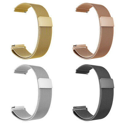 Stainless Steel Magnet Strap Watch Band For Samsung Gear S3 Frontier/Classic US