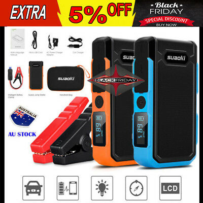 Suaoki 20000mAh Car Vehicle Jump Starter Battery 1200A Booster Emergency Charger